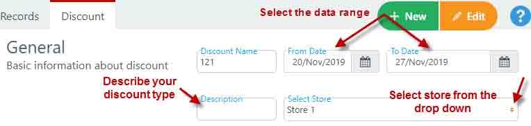 General discount